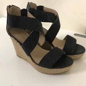 Aldo women's wedge sandals size 7.5